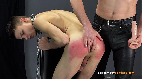 Young Teenage Boy in Bondage Fucked Bareback By Hung Master – BDSM – DreamBoyBondage.com